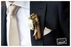 Corsage zelf gemaakt van sigaren! GEWELDIG!! Trouwen en Huwelijk in Willemstad_0817