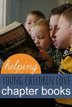 Tips for reading aloud to young kids with Chapter Books