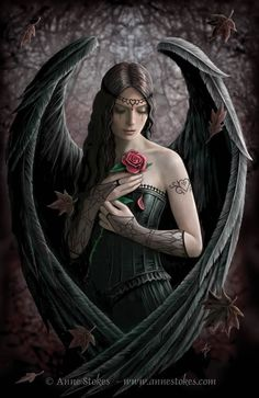 Saddness and pain - ANNE STOKES                                                                                                                                                      More
