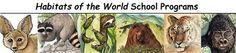 Habitats of the World (Younger Students) Activity