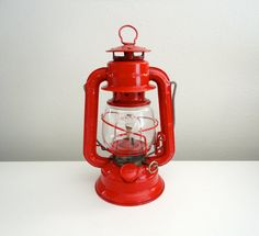Lantern Winged Wheel Number 50 by Dietz Red Farmhouse by KimBuilt, $12.00