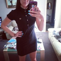 Fred perry dress. Amy Winehouse collection
