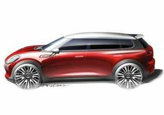 MINI Clubman Concept Design Sketch. (02/14)