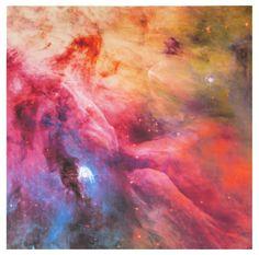 Psychedelic Astronomy Orion Nebula