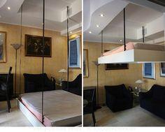 UpDown: para ocultar la cama en el techo