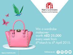 Win a wardrobe worth AED 25,000
