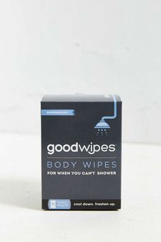 Gifts Outdoorsy People Will Absolutely Love These are deodorizing body wipes for when showering is just not in the cards (thanks, camping).These are deodorizing body wipes for when showering is just not in the cards (thanks, camping). Auto Camping, Camping Near Me, Camping Items, Camping And Hiking, Family Camping, Tent Camping, Camping Hacks, Outdoor Camping, Camping Products