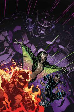 Inhumans #6 by Ryan Stegman *
