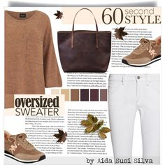 60-Second Style: Oversized Sweater by aidasusisilva on Polyvore featuring moda, VILA, Isabel Marant, MICHAEL Michael Kors and sweaterweather