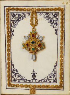 Livro de joias da Duquesa Anna da Baviera