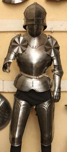 Arm Armor Body Battle Dress Female Knight Lady Suit Of Armures Medieval