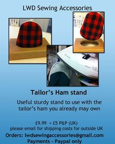 P's thrifty sewing blog: Shoulder stand pressing tool and Tailor's Ham stand