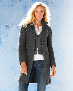 Cable Play Cardigan