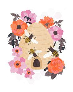 Honey Bees by Alyssa Nassner, via Flickr