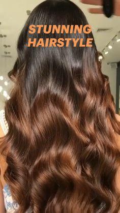 Elegant Hairstyles, Curled Hairstyles, Pretty Hairstyles, Curls With Straightener, Short Box Braids, Tips Belleza, Love Hair, Hair Videos, Hair Hacks