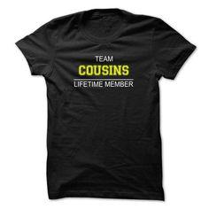TEAM COUSINS LIFETIME MEMBER T-SHIRTS, HOODIES (19$ ==► Shopping Now) #team #cousins #lifetime #member #shirts #tshirt #hoodie #sweatshirt #fashion #style