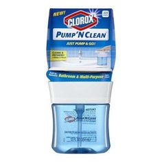 Another Rare Clorox Printable Coupon! $0.50 off any 1 Clorox Pump 'N Clean Printable Coupon!