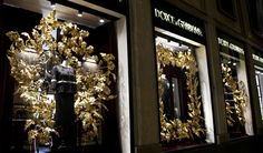 Resultado de imagen de dolce and gabbana window displays