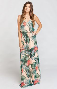 It sounds weird but if the Jocelyn Maxi and the Kiersten Maxi had a baby, it would be ever perfected Kendall Maxi.  A soft V neck and low back are ultra feminine and flatter every body. Kendall may be a young Mu but she is def on track to be your new go-to maxi.                  *MADE IN THE GORGE USA* *I Come in Six Sizes: XS, S, M, L, XL, XXL *100% Poly Chiffon *Lined to the ground *Elastic Waist  *This Kendall Maxi Does not have a slit  *Basically Wrinkle-proof.  Throw in purse…