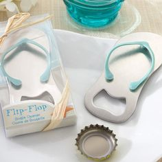 Flip Flop Bottle Opener Wedding #favors