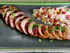 Grilled Pork Tenderloin Video : Food Network - FoodNetwork.com