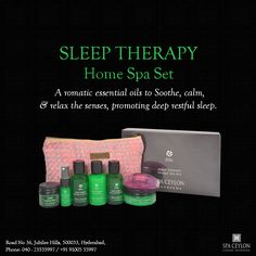 Spa Ceylon #offers you the pack of #love – #Sleep #therapy #home spa set. This exquisite set comes with the diverse range of #products that #nourishes your #body and #senses with Ayurvedic care and helps them unwind and gives a new vigour to them. Grab your lovely set today only at Spa Ceylon. #Spaceylon #Hyderabad #Ayurveda #SpaCeylonHyderabad #spa #beauty #BeautyProducts #Relax #natural