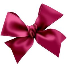 just a little pink bow.