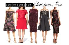Best Dresses for Christmas Eve