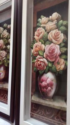 Quadro Arte francesa As Rosas