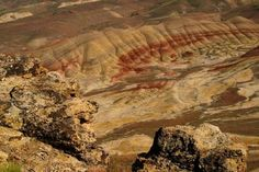 Painted Hills - John Day Fossil Beds National Monument, Cave Junction, OR