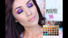 Jaclyn Hill X Morphe Brushes Palette I Purple Vibes - YouTube