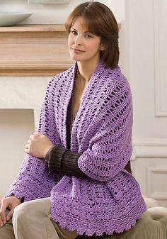free prayer shawl crochet pattern | Friendship shawl (free Ravelry pattern)