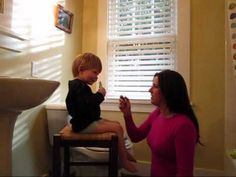 ▶ TAGteach with Toddlers - YouTube: Using TAGteach to help a toddler become more comfortable with having saline sprayed up his nose.