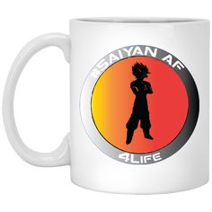 Treat Yourself #Saiyan AF - W11W... Check it Out!!! http://tudedays.myshopify.com/products/saiyan-af-w11w-custom-personalized-11-oz-white-mug?utm_campaign=social_autopilot&utm_source=pin&utm_medium=pin