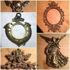 Antique Iron Tree Hall Hook Vintage iron coat hook Swing arm