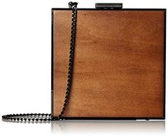 French Connection Adrian Clutch With Drop In Chain, Dark Wood W Black, One Size French Connection http://www.amazon.com/dp/B011L4KK58/ref=cm_sw_r_pi_dp_nI0dwb0PN6303