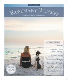 rosemary thymes summer 2014