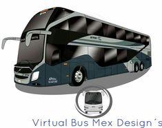 Volvo 9800 dd etn México virtual