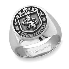 John Christian Family Crest Ring...I want one
