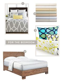 http://www.stylemepretty.com/2014/04/21/spring-refresh-with-macys/ for the bedroom