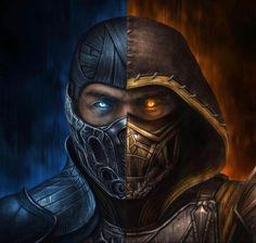 Sub Zero Mortal Kombat, Escorpion Mortal Kombat, Mortal Kombat Tattoo, Mortal Kombat X Scorpion, Game Character Design, Character Art, Mortal Kombat X Wallpapers, Dark Art Tattoo, Hp Tattoo