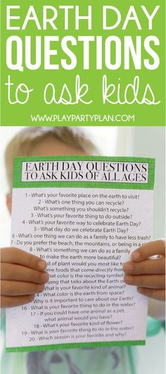 Earth Day quiz questions and activities to do with your kids! Loving this idea of sitting down with your preschooler or older kids and asking these questions! Earth Day Activities, Spring Activities, Craft Activities For Kids, Science Activities, Preschool Education, Teaching Kids, Kids Quiz Questions, Question Of The Day, This Or That Questions
