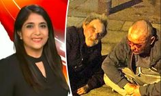"""A BBC news presenter says she is in """"utter shock"""" after a man allegedly called her a """"P***"""" as she walked through her home town."""