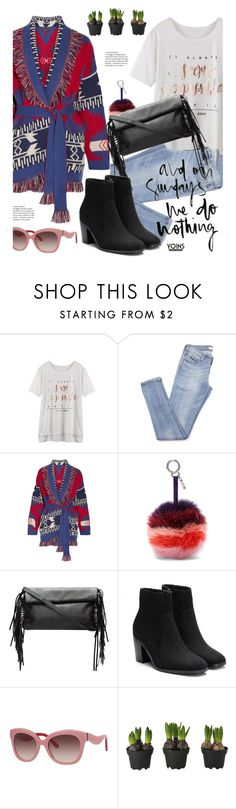 """""""Yoins.com: And on Sundays we do nothing."""" by hamaly ❤ liked on Polyvore featuring Alanui, Fendi, Kate Spade, yoins, yoinscollection and loveyoins"""