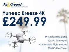 Yuneec Breeze – Your Flying Camera Drones, Rc Drone, Perfect Christmas Gifts, Still Image, Breeze, Campaign, Content, Ebay, Medium