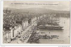 13 Marseille, Vue Générale Des Quais Vus Du Pont Transbordeur (10696) - Vieux Port, Saint Victor, Le Panier