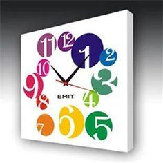 US$36.99EMIT Square Canvas Wall Clock P05