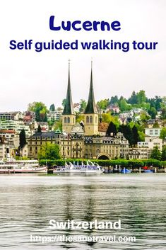Lucerne in Switzerland also known by local German name as Luzern is a lively town. There are lots of things to do in Lucerne. With its location at the Lucerne lake city is an ideal starting point… Europe Destinations, Europe Travel Tips, European Travel, Travel Guides, Spain Travel, Travel Hacks, Zermatt, Vacation Ideas, Switzerland Tour