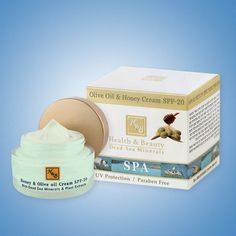 Body & Spa. The cream is enriched with Olive oil, a honey blend, Shea butter, Sea Buckthorn, Avocado oil, Aloe Vera, Rose Hip oil (which is effective in wrinkles prevention) as well as the essential fatty acids Omega 3 & 6, vitamins A, C and E, and active Dead Sea water minerals. | eBay!