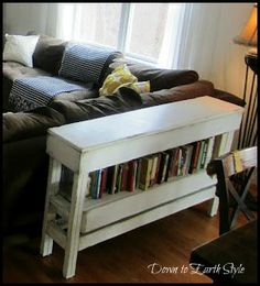 Tim doesn't know it yet but he's gonna become a craftsman yet. Love this prim table. I want to make one for the hall way.